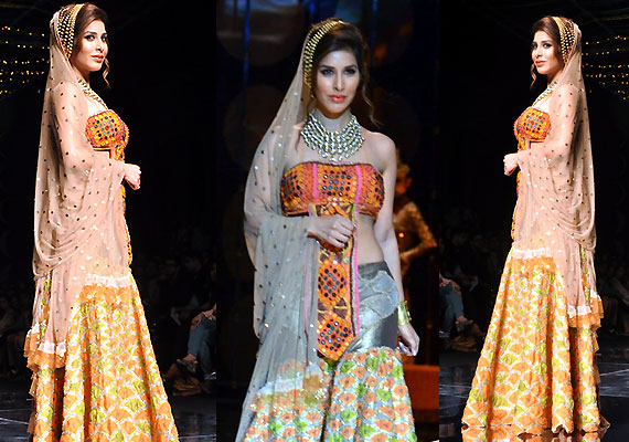 sophie choudry displayed the perfect free spirited bride