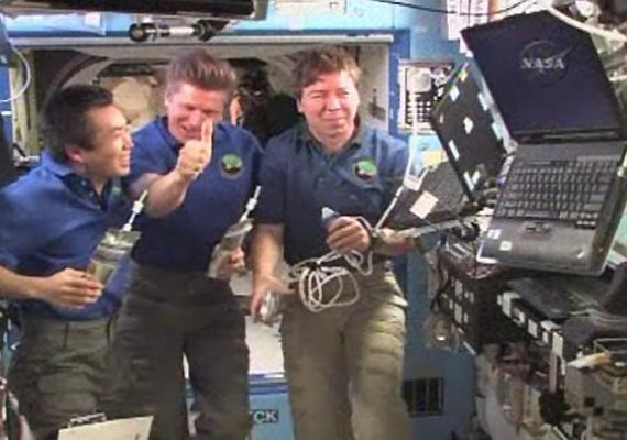 astronauts pee to get recycled into clean water