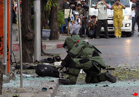 bangkok bombs not meant for large scale destruction