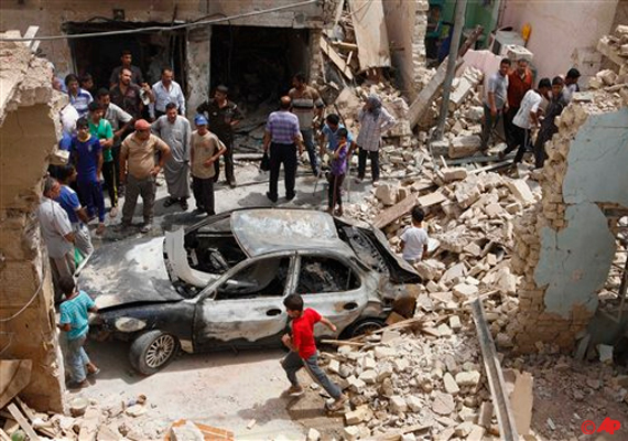 bombs kill four in iraq as violence grinds on