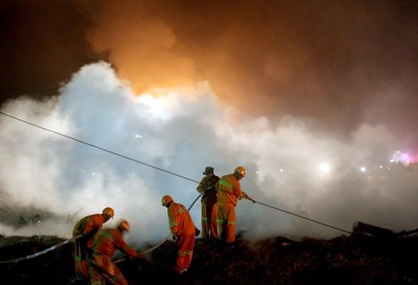chemical plant blast kills 14 in china