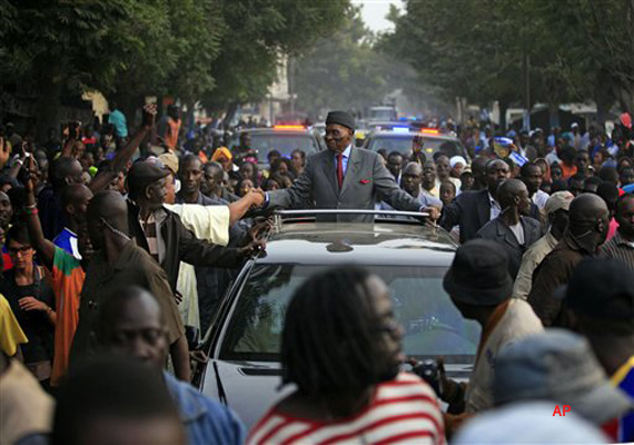 clashes in senegal between police protesters