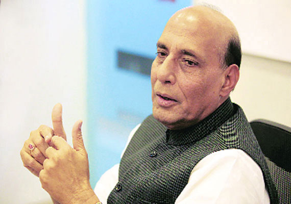 did not raise modi visa issue with us officials rajnath