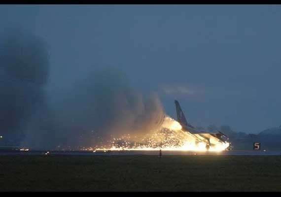 Eurofighter crashes at Spanish military airfield | World