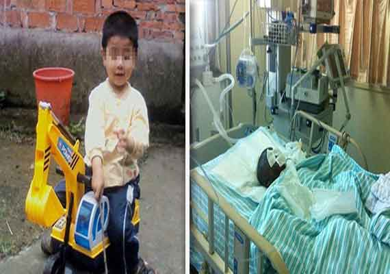 family quarrel chinese woman makes son drink petrol sets