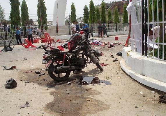 four killed in nepal motorbike blast