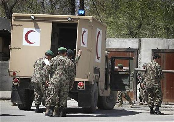gunman kills 2 americans inside afghan ministry