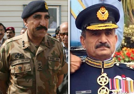 isi and pakistan air force gets new chief
