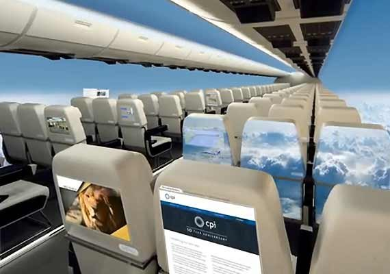welcome to the future of aviation windowless airplanes