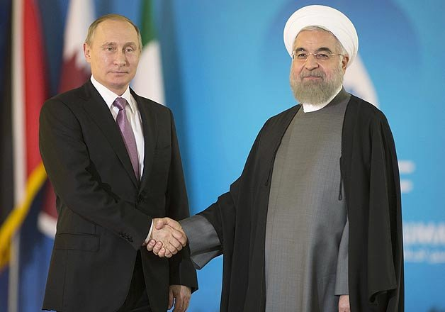 vladimir putin in iran for talks focusing on syria