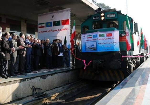 first silk road train carrying chinese goods arrives in