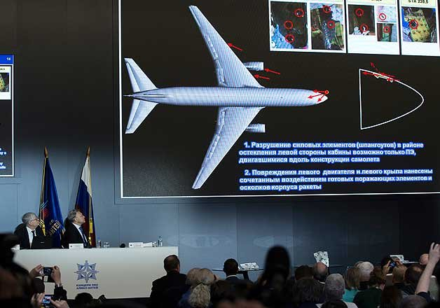 russian buk missile downed mh17 in ukraine dutch probe