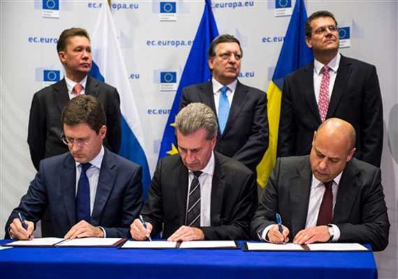 ukraine moscow clinch deal on russian gas supply