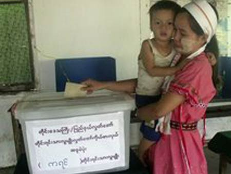 low turnout in myanmar parliamentary elections