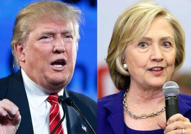 trump clinton lead ahead of super tuesday contests