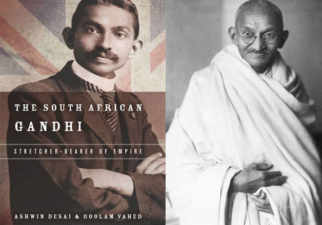 gandhiji was racist and a british stooge claims new book