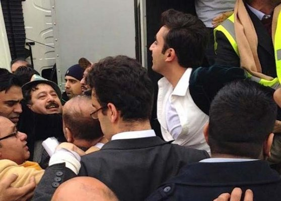 bilawal bhutto attacked during million march