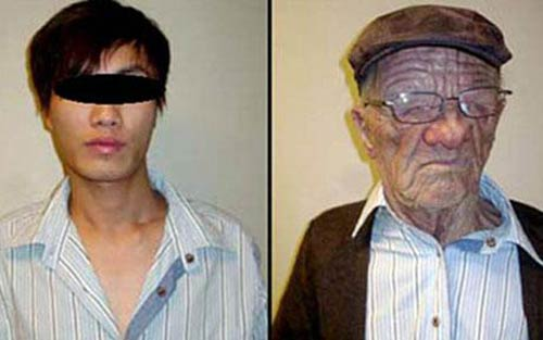 asian man boards flight to canada disguised as old man