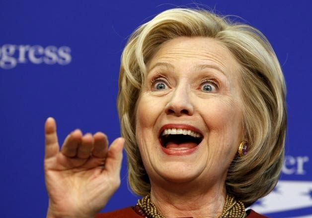 watch video hillary clinton barks like a dog to attack