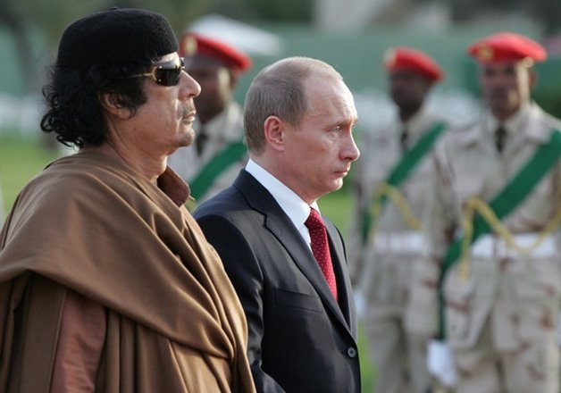 Muammar Gaddafi Tried To Marry Son To Vladimir Putin S Daughter World News India Tv