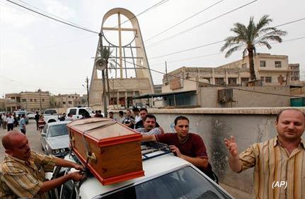 series of blasts in baghdad kills 76