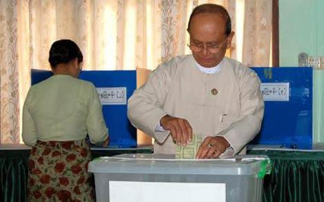 pro junta party sweeps myanmar polls