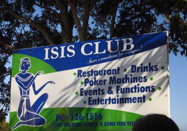 we re from isis and we are not terrorists town in australia