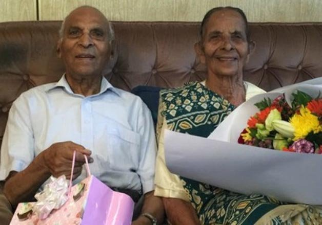 indian origin couple in new zealand awarded longest married