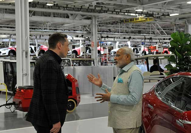 pm modi shows keen interest in using tesla s power ball