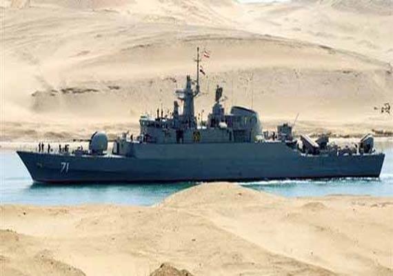 iran warships enter mediterranean says naval commander