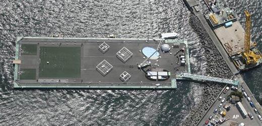 japan dumps radioactive water into sea