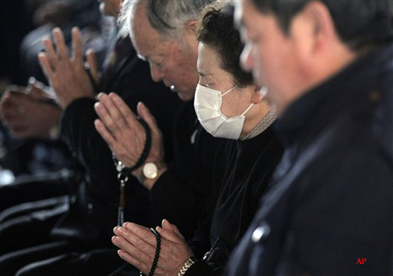 japan marks 1 year since quake tsunami disaster