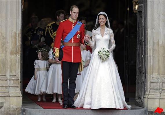kate triumphs in fairytale sarah burton dress