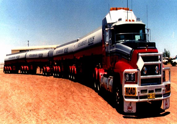 know about mammoth road trains