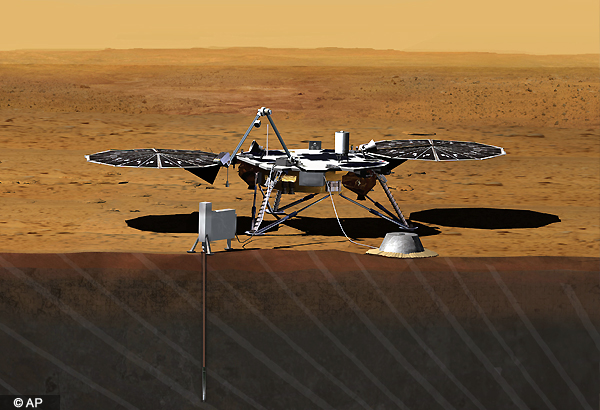 nasa to launch another mars mission in 2016