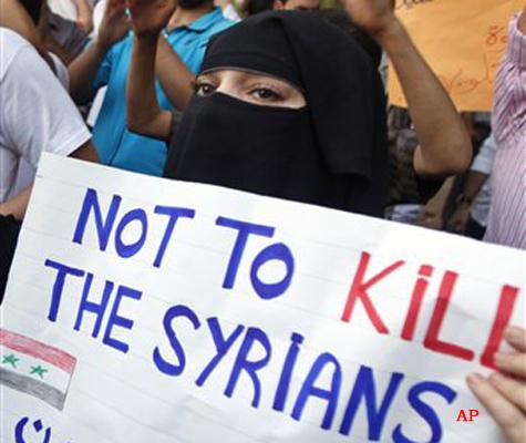 nine killed in syria crackdown activists