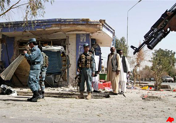 nine people killed in ied attack in kandahar