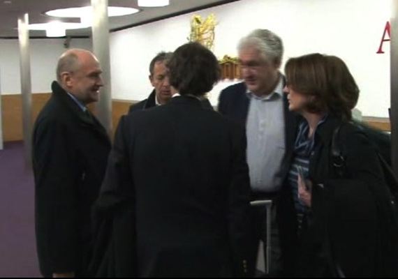 nuclear inspectors of united nations leave for key talks in