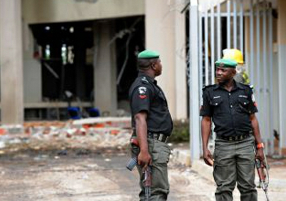 5 killed in attacks on two churches in nigeria