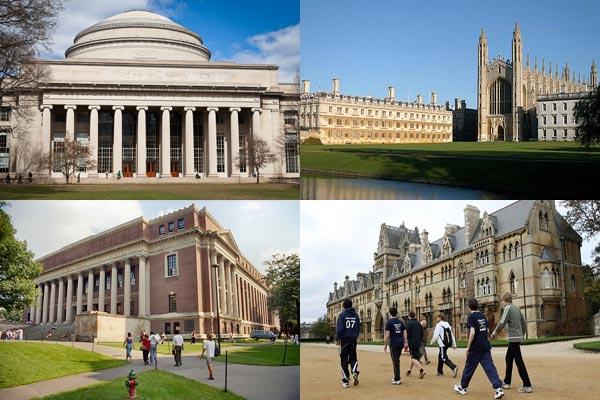 the world s top 5 universities