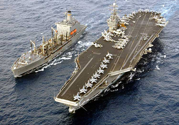 us deploys aircraft carrier uss truman to gulf