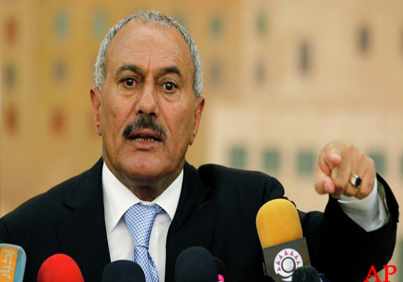 yemen s saleh urges vote boycott turns deadly