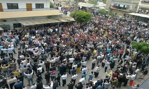 55 dead on syria rage day