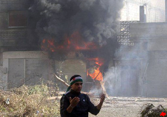 53 killed in syria violence as protests rage