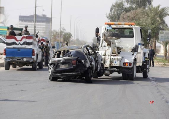 20 people killed in iraqi police academy blast
