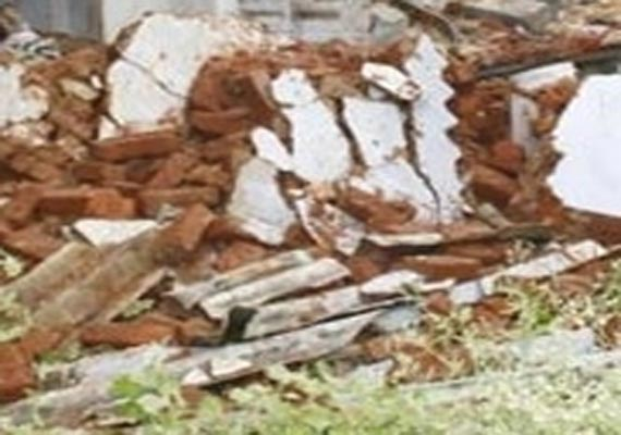 8 buried alive in bharatpur house collapse rajasthan