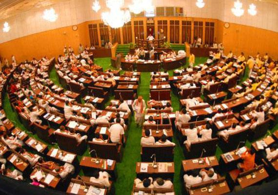 ap legislature rejects telangana bill by voice vote amid