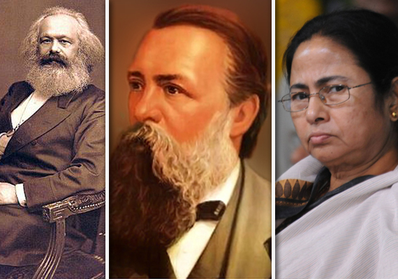achtung mamata to remove marx engels from bengal textbooks