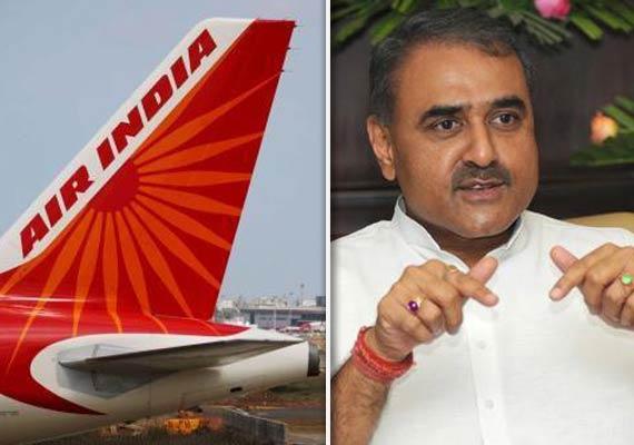 air india deployed bigger aircraft for praful patel s family
