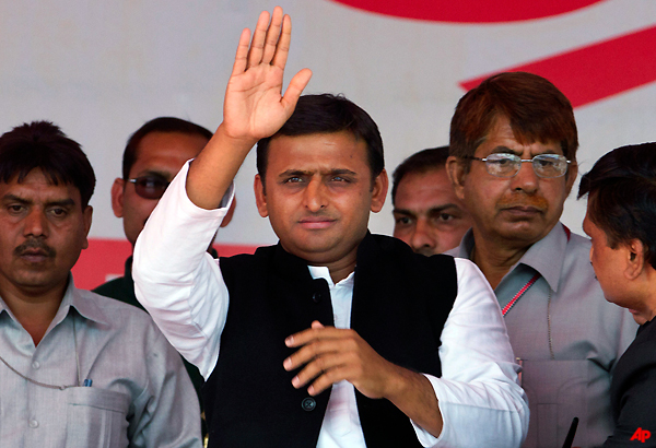 akhilesh yadav has 61 portfolios with him now